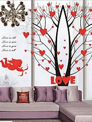 angelo e amore cuori di tv seeting autoadesivo della parete / camera da letto / autoadesivo della parete della stanza di studio