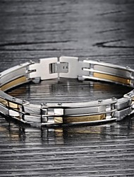 Super Cool Male Hand Catenary of Fine Steel Personality is Made of High-quality Goods