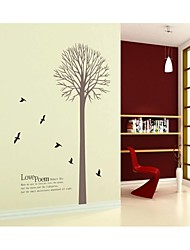 Wall Stickers Wall Decals, Style Love Poem PVC Wall Stickers