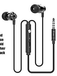 Fones (Ouvido) ( Microfone/MP3/Ressonância/Controle de Volume/Fones de Ouvido )- Com Cabo - Maçã Dentro da Orelha