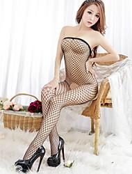 Sexy/Herz-Ausschnitt Damen BH & Höschen Set ( Baumwolle/Spitze )