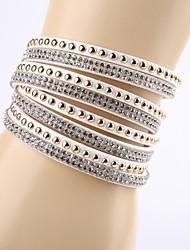 Bracelet (Cuir) Mode - pour Femme/Amoureux