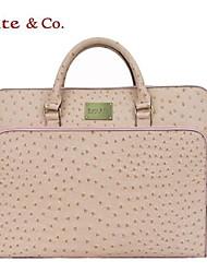 Bolsa de Portátil PVC - Rosa / Verde - Mujer