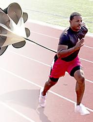 formação drag chute treinamento de velocidade de pára-quedas em execução (cor aleatória)
