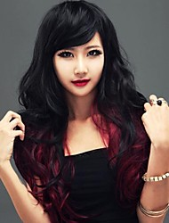 Fashion Natural Double-Color Inclined Liu Haigao Quality Synthetic Hair