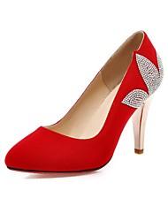 Women's Shoes Flocking Stiletto Heel Pumps/Heels Dress