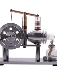 NEJE DIY Balance Type Hot Air Stirling Engine Motor Model