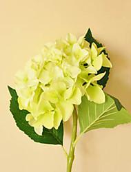 Light Green Hyfrangeas Artificial Flowers Set 2