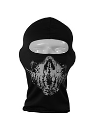 Qinglonglin Skull Cs Ghost Cycling Motorcycle Balaclava Face Mask For UV Protection