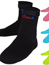 DiveSail 3mm Neoprene Scuba Diving Socks Snorkeling Winter Swim Seaside Boots Wet Suit Protection Warming Non-slip Shoes