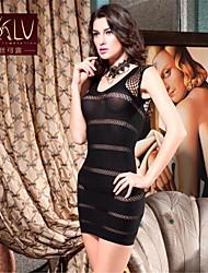 Camisas e Vestidos/Lingerie de Renda/Ultra Sensual ( Nailom/Elastano ) Mulher