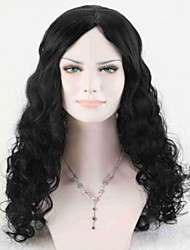 High Quality Synthetic Hair Fashion Natural Black