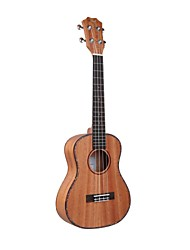 "Tom 25"" Mahogany Tneor  Acoustic Ukulele with Aquila String"