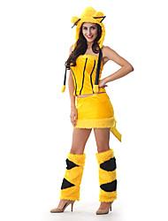 Costumes - Déguisements d'animaux - Féminin - Halloween - Top/Jupe/Jambières/Chapeau