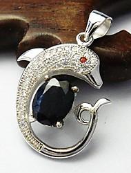 Natural Sapphire Pendant Natural Gemstone Pendant