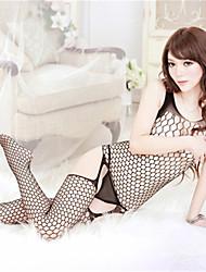 Feminino Roupa de Noite Ultra Sexy/Conjunto Feminino Nylon