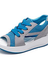 Zapatos de mujer ( Azul/Verde/Rosado Sintético/Ante Sintético
