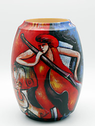 Decorative Painting Pattern Vase