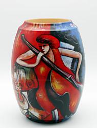 pintura padrão decorativo vaso