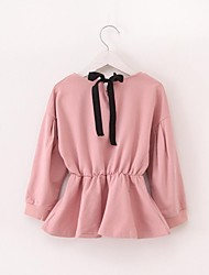 Girl's Fashion Pure Color Blouses