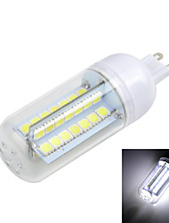Marsing G9 10W   Cross Board 1000LM 6500K/3000K 56-5050 SMD Warm/Cool White Light LED Corn Bulb (AC 220~240V)