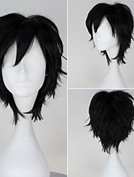 Cosplay Wigs Fairytale Movie Cosplay Black Solid Wig Halloween / Christmas / New Year Male