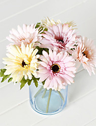 Polyester Chrysanthemum Artificial Flowers