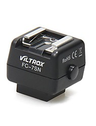 VILTROX FC-7SN For Sony Machine Hot Shoe Flash Hot Shoe Seat Light Converter Conversion Trigger