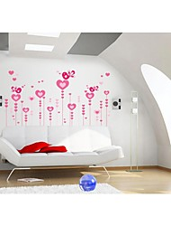Wall Stickers Wall Decals, Style Love Bird PVC Wall Stickers