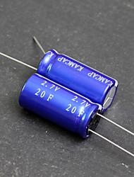 10PCS x 20F 2.7V KAMCAP HP Series Super Electrolytic Capacitors ELDC Sets
