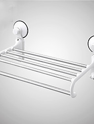 Sucker Plastic&S/S Wall Mounted Tower Rack /Tower Shelf With Suction Cup