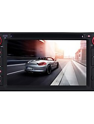 universelle lecteur DVD de voiture pour Toyota android4.4 2 din 6.2 '' 800 x 480built Bluetooth / GPS / RDS / interface 3D / wifi