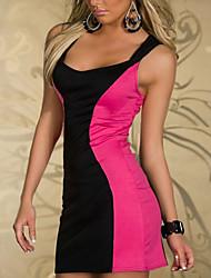 Elegant Lady Low-cut Lycra Sexy Uniform