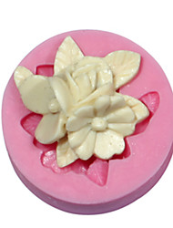 Cake Decorating Flower Mold Silicone Brooch Mould For Fondant Candy Crafts Jewelry Chocolate PMC Resin Clay