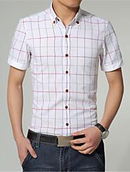 camisa casual moda masculina