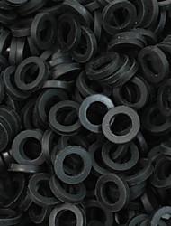 itatoo ™ 200pcs schwarze Gummi Tattoo O-Ring für Tattoomaschinen Teile p106018b