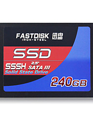 "FASTDISK SSSH 240GB 2.5"" Solid State Disk (SSD) Internal Hard Drive SATA III for Laptop"