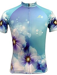Jesocycling®  Women's Short Sleeve Spring And Summer Cycling Tops Cycling Jerseys