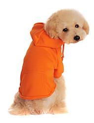 puppy hond kleding huisdier kleding winter warme jas met capuchon trui assorti kleuren en diverse maten