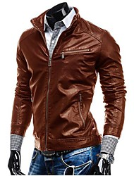 Men PU Outerwear (Lined)