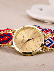 wagen u Mode mulri farbige Armbanduhr