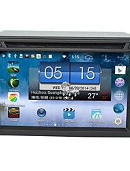 android 4.4 dual-core DVD player do carro, 6.2 polegadas touchscreen capacitivo com gps, ATV, wi-fi (ln-5602)