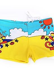 Boy's Fashion Beach Monkey Design Swimwear