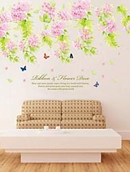 окружающей среды съемный стикер цветок ПВХ стены