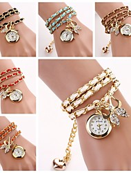 Women's Bow Bracelet Quartz Watches(Assorted Colors) C&D-131 Cool Watches Unique Watches