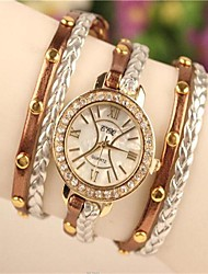Women's 2015 The Latest Fashion  Leather  Quartz Watch Hot Sale(Assorted Colors) Cool Watches Unique Watches