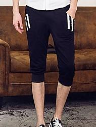 Shorts ( Schwarz/Grau , Baumwolle ) - für Freizeit - für MEN