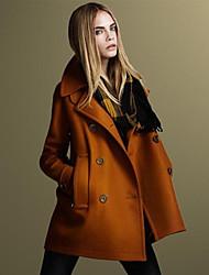 O  M  G   Women's European Fashion Long Sleeve Coat