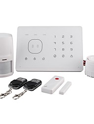 Home Safe APP Android Alarm RFID Card Alarm System with Best Price  M2G White
