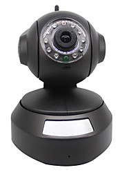 Wirelese 720P 1MP IP CAMERA Pan Tilt ONVIF NVR WiFi Night Vision Motion Detection IR-CUT Support TF Card